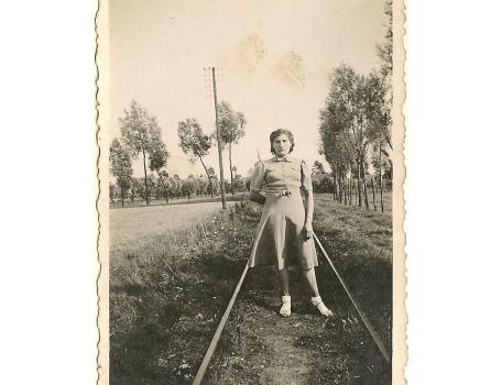 Trambaan, Sint-Lievens-Houtem, jaren 1940