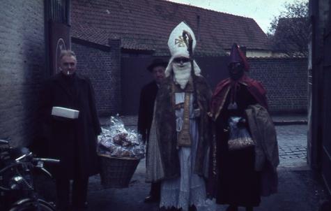 Sinterklaasfeest, Oosterzele, 1961