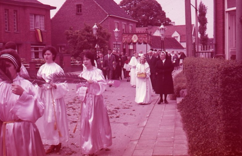 Processie, Moortsele, jaren '60