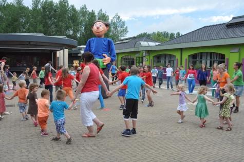 Dansje voor de Groenbuikreus, Oosterzele, 2013
