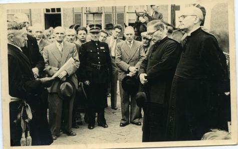 Inhuldiging pastoor van Gansbeke, Munte, 1951-1952