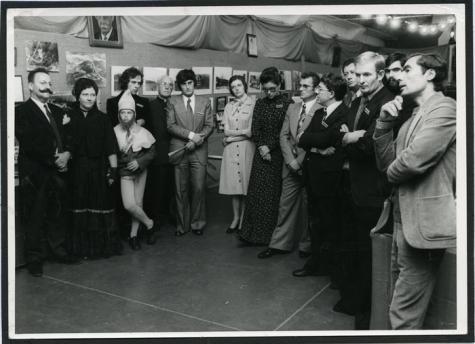 Tentoonstelling Munte vroeger en nu, Munte, jaren 1970