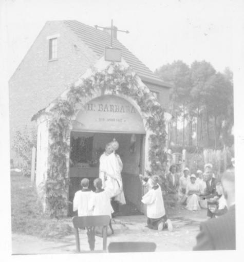 Sacramensprocessie, Oosterzele, 1959