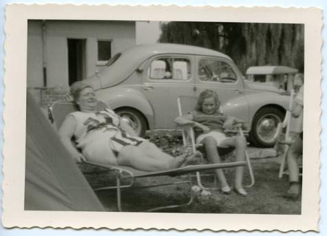Op reis met de wagen, jaren 1950