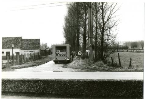 Vrachtwagen, Balegem, 1970