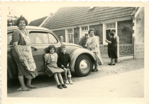 Familie Van Haudenhuyse, Melsen, 1950-1960