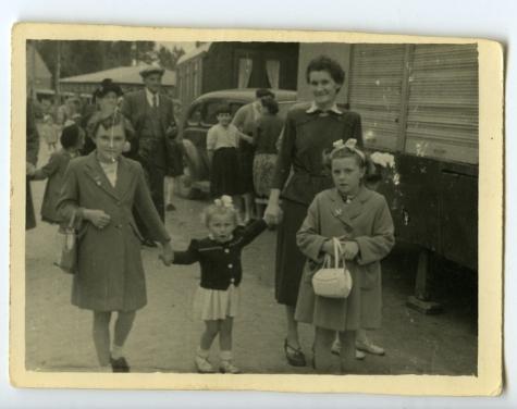 Kermis, Burst, 1940-1950
