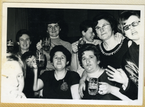 Samen vieren met de collega's, Sint-Lievens-Houtem, 1960-1970