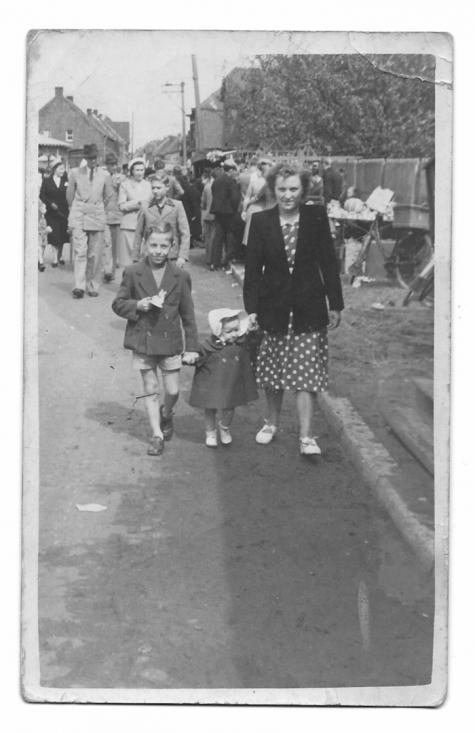 """Stousekirmesse"" te Balegem, zondag 19 augustus 1951"