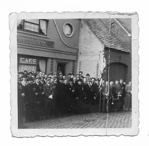 Herdenking, Scheldewindeke, 1946