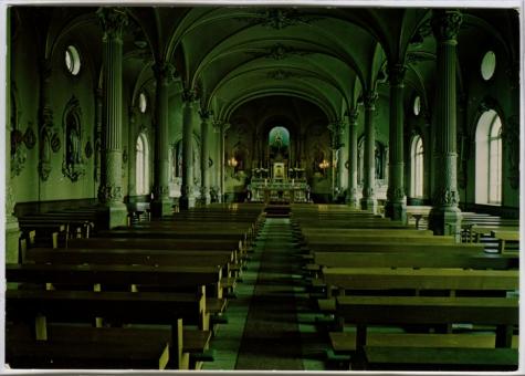 Binnenzicht in de kapel College Melle