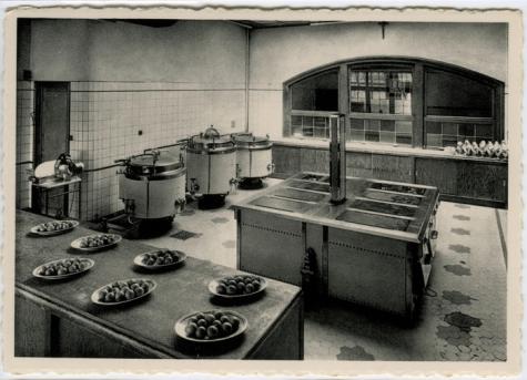 Keuken van het college te Melle