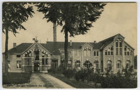 Machinegebouw, Caritasinstituut, Melle