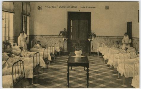 Ziekenzaal, Caritasinstituut, Melle