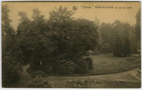 Hoekje van de tuin, Caritasinstituut, Melle