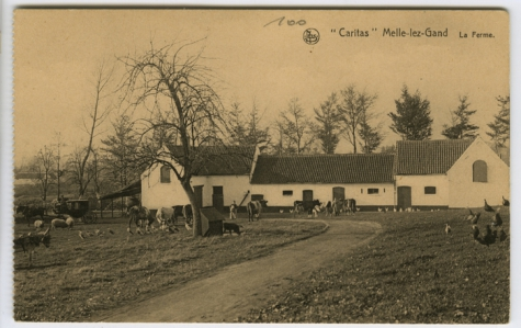 Boerderij, Caritasinstituut, Melle