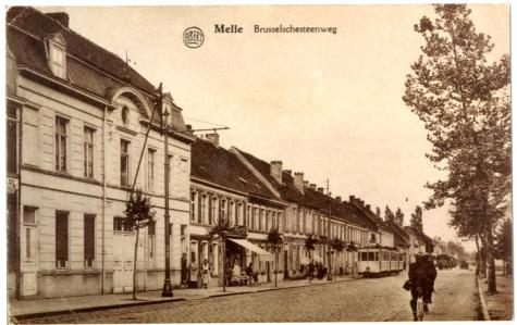 Tram van de lijn Melle-Gentbrugge, Melle.