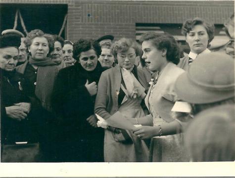 Brief van buren aan jubilarissen, Sint-Lievens-Houtem, 1955