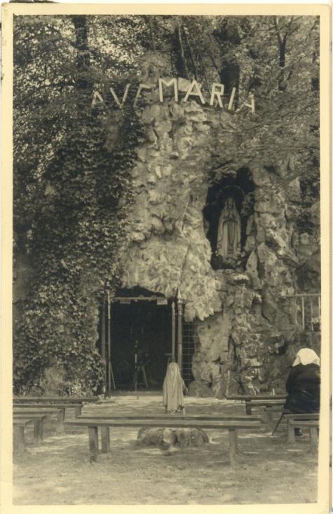 Maria grot te Vlierzele, Sint-Lievens-Houtem, 1952