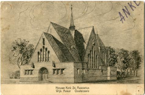 Postkaart van Ankerkerk, Oosterzele