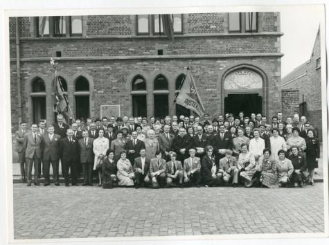 50-jarig bestaan boeren- en boerinnengilde, Oosterzele, 1971