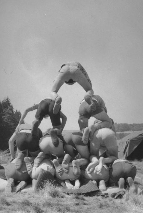 Kamp in Manderfeld, 1973