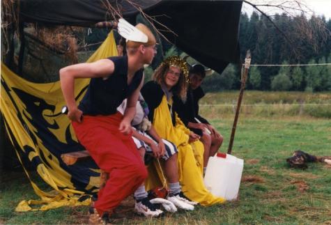 Asterix en Obelix op kamp, Opont, 1999.