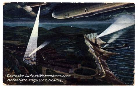 Bombardement Engelse kust, 1915