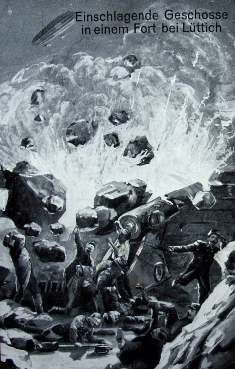 Bombardementen forten Luik, 1914