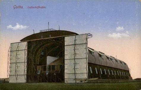 Zeppelinloods van het type Gontrode