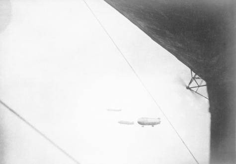 Zeppelin in de lucht, 1915