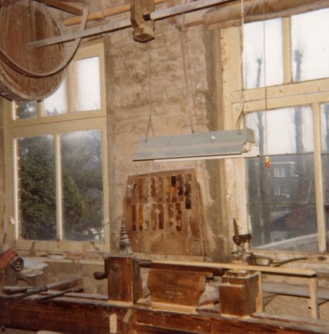Atelier van de pijlenmakerij Gyselinck, Melle