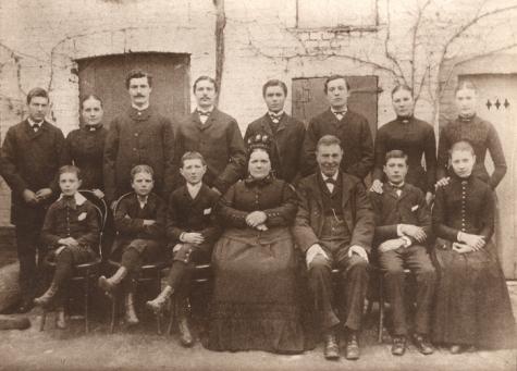 Gezin Gyselinck, Melle, 1863-1900
