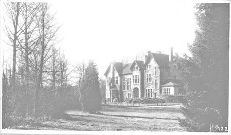 Kasteel Drory, Merelbeke, 1917