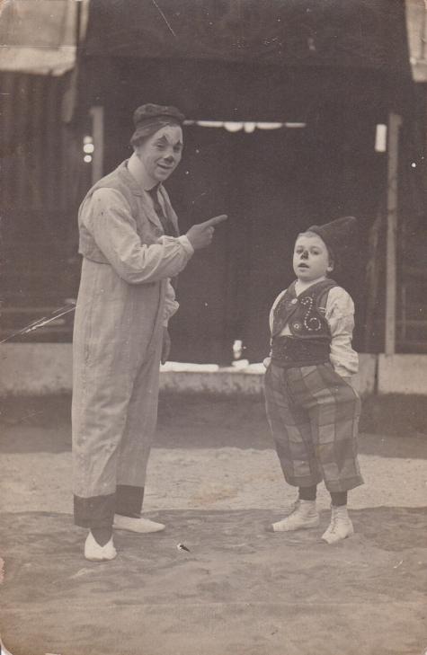 Cirque Variéte op Houtem Jaarmarkt, 1908-1909
