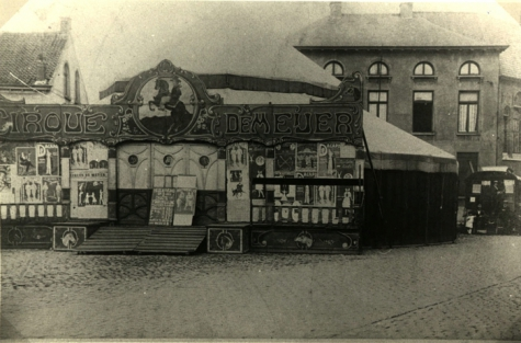 Circus Demeyer op Houtem Jaarmarkt, Sint-Lievens-Houtem, 1922-1928