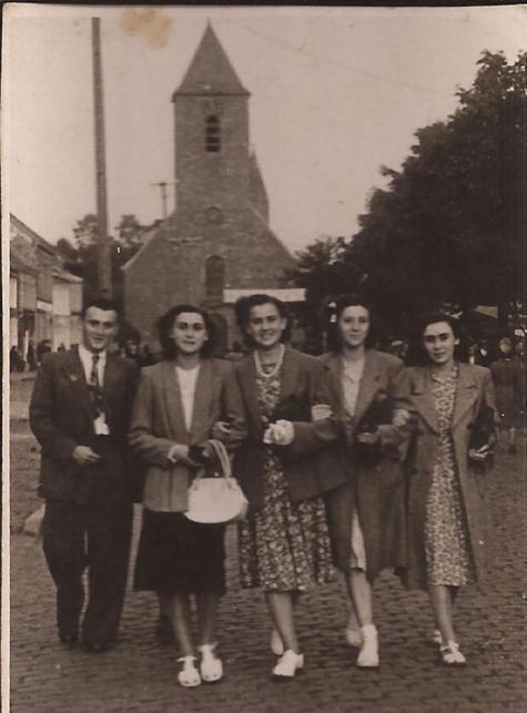 Kermis op het Marktplein, Sint-Lievens-Houtem