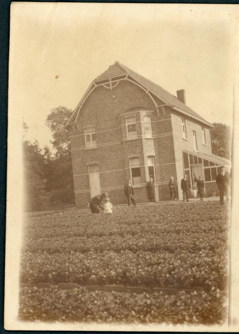 Bloemistenwoning Maxim Debersaques, Destelbergen, jaren 1930