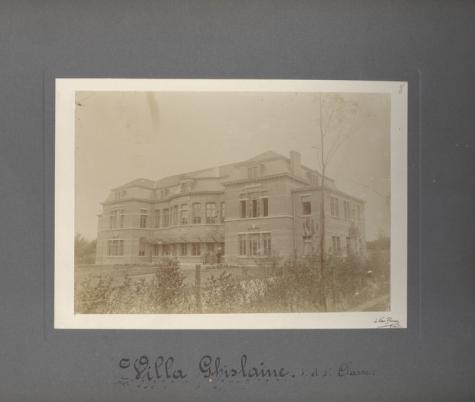 Villa Ghislaine, Caritasinstituut, Melle, 1910-1915