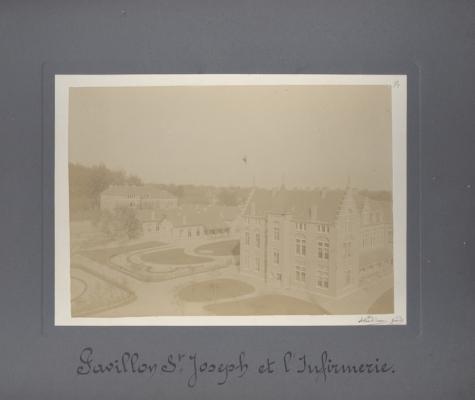 Sint-Jozef paviljoen en ziekenzaal, Caritasinstituut, Melle, 1910-1915