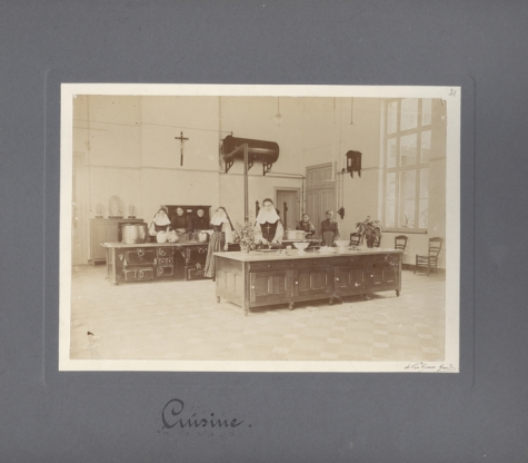 Keuken, Caritasinstituut, Melle, 1910-1915
