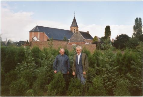 Albert en Noël De Neve, Oosterzele, 2001.