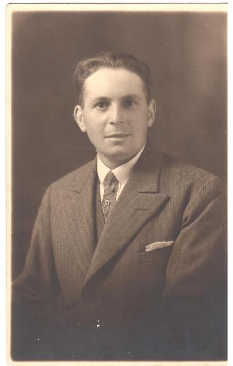 Portret Arhur De Neve, Oosterzele, jaren 1930.