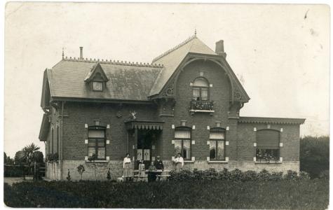 Bloemisterij St.-Fiacre, Destelbergen, begin 1900