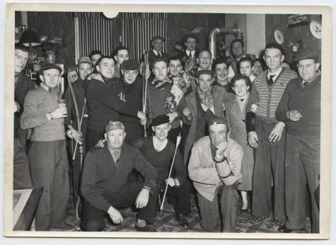 koningschieting Café 't Paviljoen, Moortsele, 1957