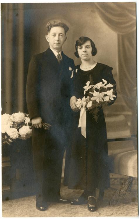 Portret Madeleine Steurbaut - Florent De Moor, 1934