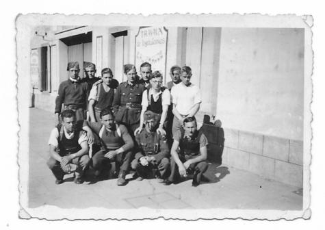 Belgisch leger op de loop, Montauban (Fr), juni 1940