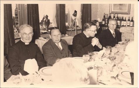 Diner Livinusfeest, Sint-Lievens-Houtem, 1957