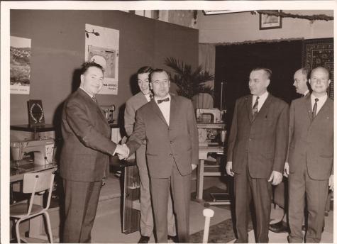 Eerste handelsfoor, Sint-Lievens-Houtem, 25 september 1965