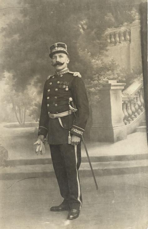 Portret van commissaris Gentil Demeyer, Melle